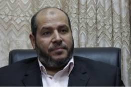 الحية يكشف عن فحوى الرسالة التي حملها الوفد الأمني المصري إلي قيادة حماس
