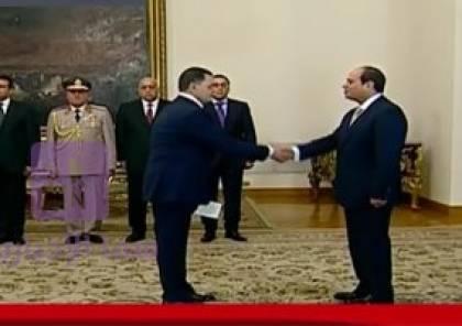 الحكومة المصرية الجديدة تؤدي اليمين الدستورية امام الرئيس السيسي