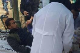 إصابة شاب برصاص جيش الاحتلال شرق مخيم البريج