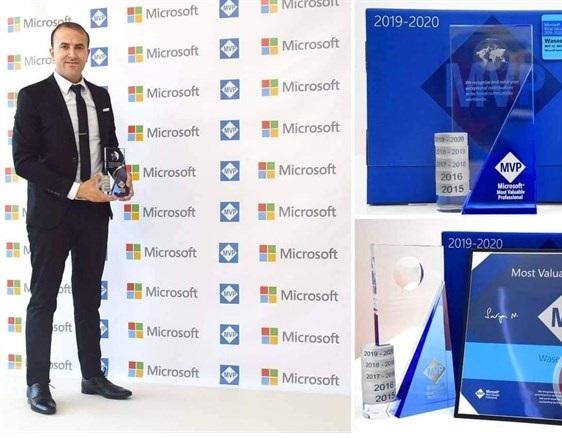 فلسطيني يحصد جائزة  مايكروسوفت  العالمية للسنة الخامسة  - سما الإخبارية