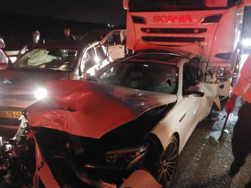 المركبات عقِب الحادث