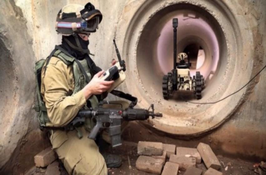 جدار ذكي جديد يعتمد على الروبوتات على الحدود مع غزة - سما الإخبارية