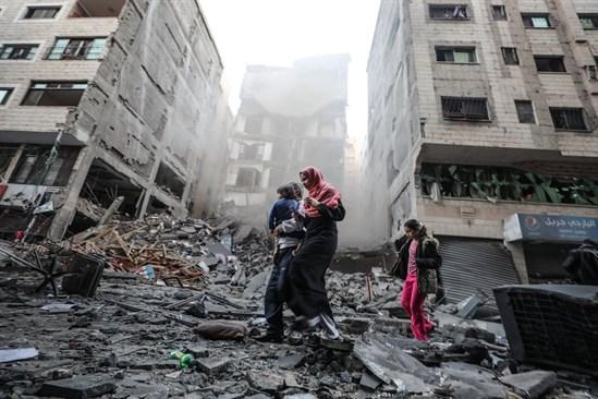 لجنة فلسطينية تكشف سر توقف عملية إعمار غزة - سما الإخبارية