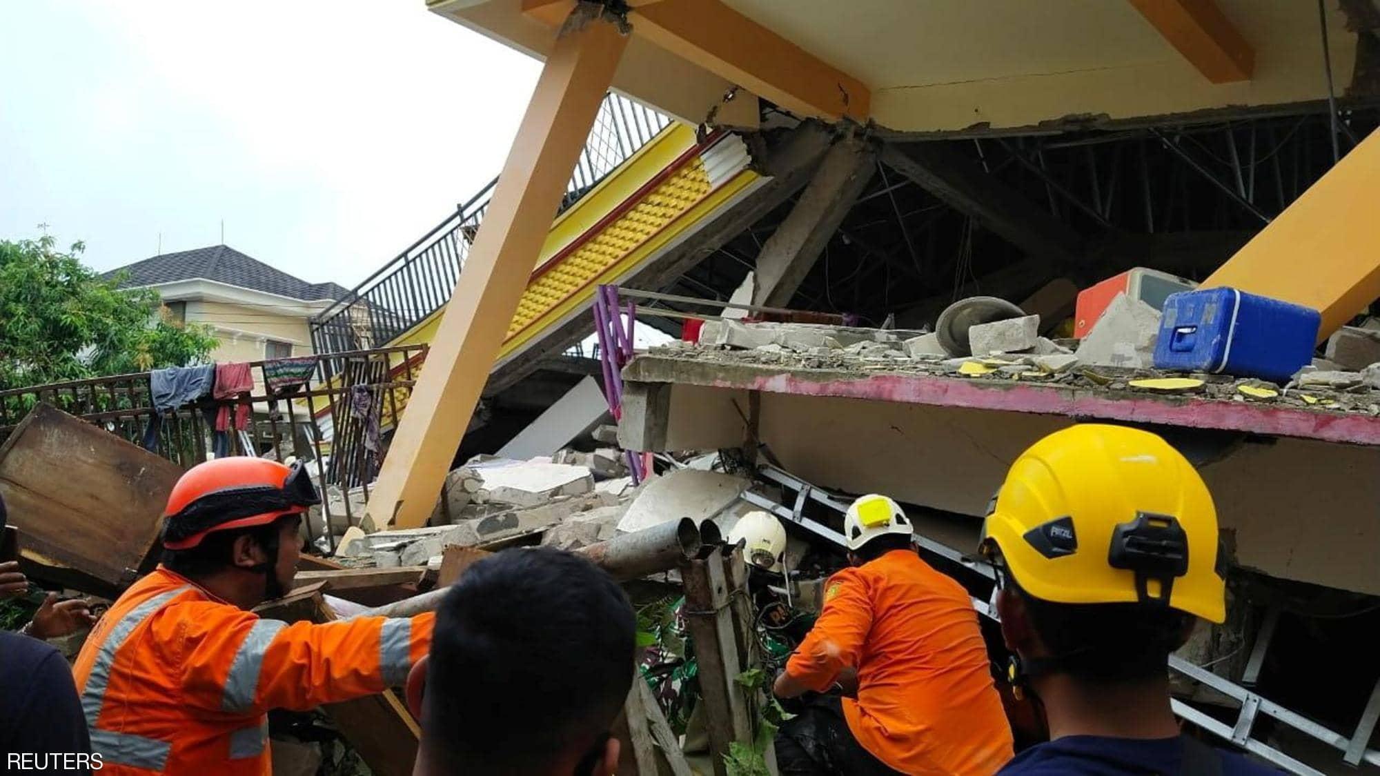 الزلزال ضرب جزيرة سولاويسي