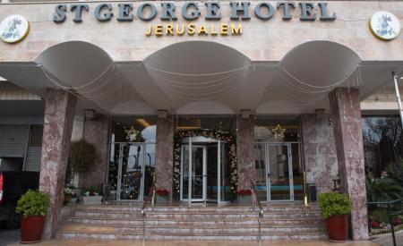 التجمع المقدسي  يتسلّم فندق سانت جورج لتحويله للحجر الصحي - سما الإخبارية
