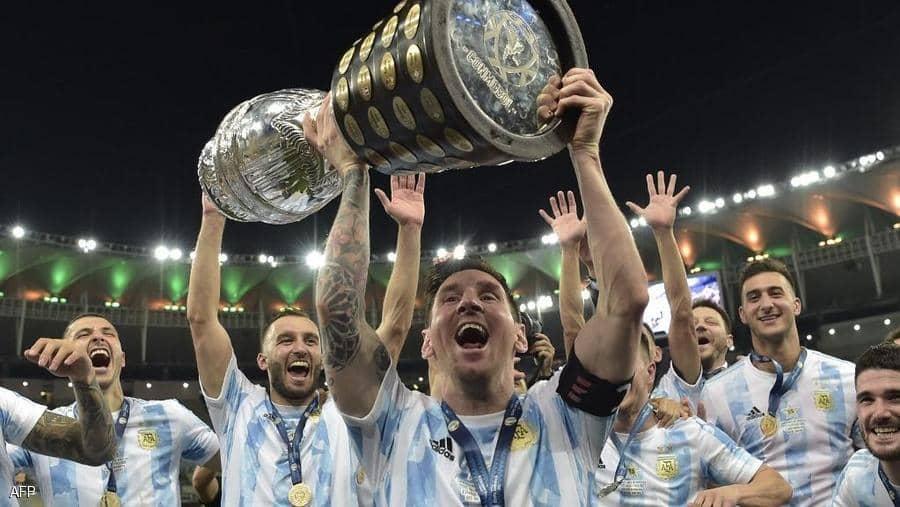 ميسي.. بطولة مع الأرجنتين أخيرا