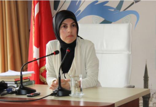 سفيرة تركيا في ماليزيا مروى كافكجي والدة فاطمة أبو شنب-الأناضول