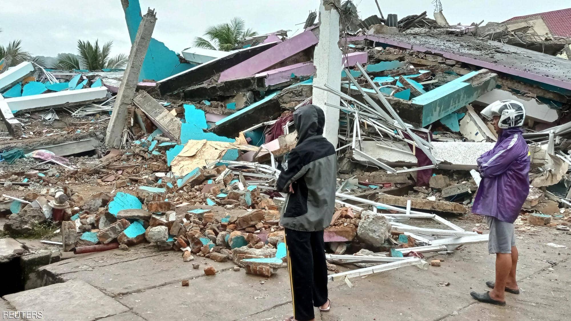 إندونيسيا تقع ضمن الحزام الناري المعرض للزلازل بكثرة