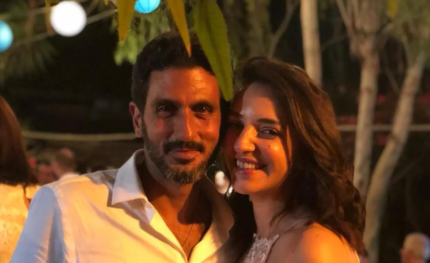 صور: زفاف يهودي وعربية مسلمة من نجوم المجتمع في إسرائيل