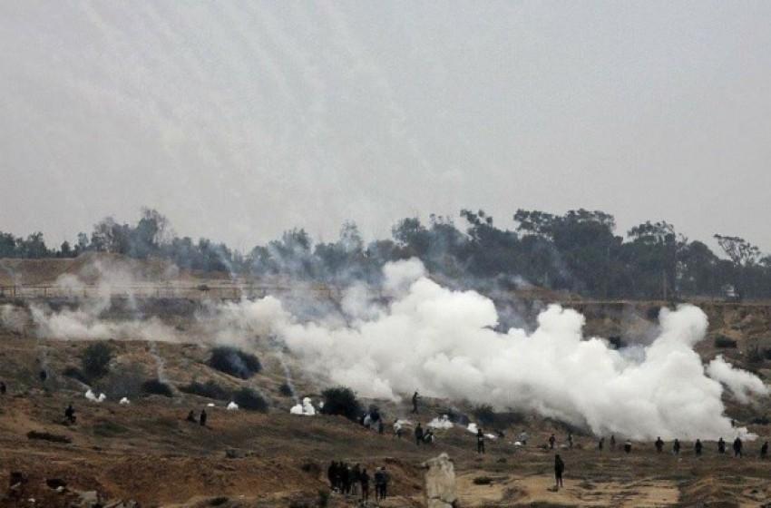 غازات سامة وصلت مستوطنات غلاف غزة  - سما الإخبارية
