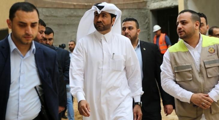 وصول نائب العمادي إلى غزة - سما الإخبارية