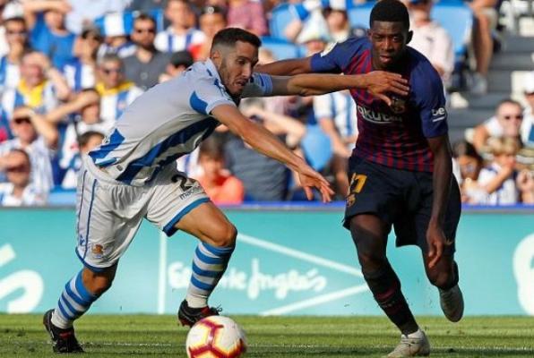 ديمبلي ينفرد برقم مميز في الدوري الإسباني - سما الإخبارية