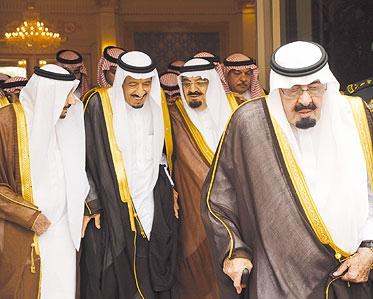 75 دقيقة حاسمة بين وفاة الملك عبدالله وتنصيب الأمير سلمان ملكا ومقرن وليا للعهد سما الإخبارية