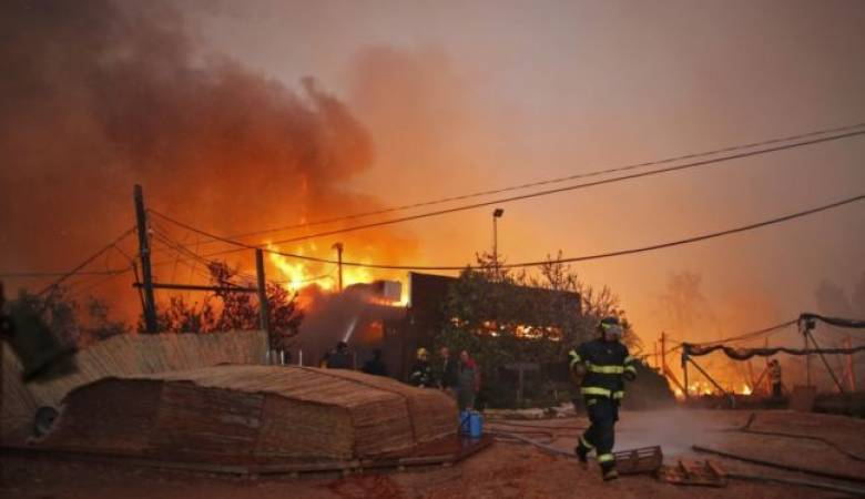 7 حرائق في بلدات غلاف غزة بسبب البالونات الحارقة المنطلقة من غزة - سما الإخبارية