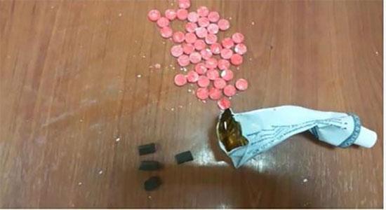 طريقة جديدة لتهريب المخدرات إلى غزة - سما الإخبارية