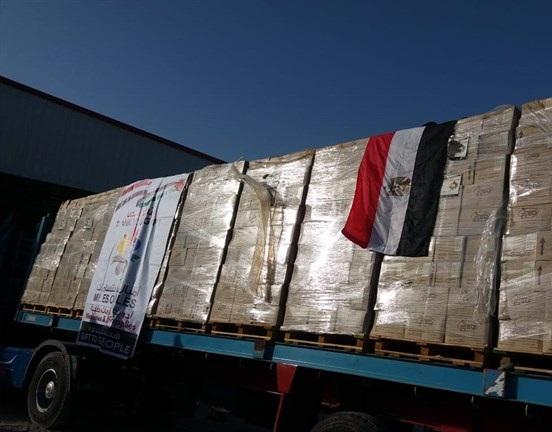 مساعدات طبية تصل غزة عبر معبر رفح - سما الإخبارية