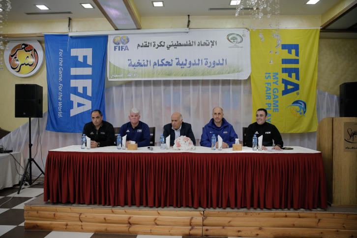 الرجوب يفتتح دورة دولية لحكام كرة القدم بإشراف الفيفا - سما الإخبارية
